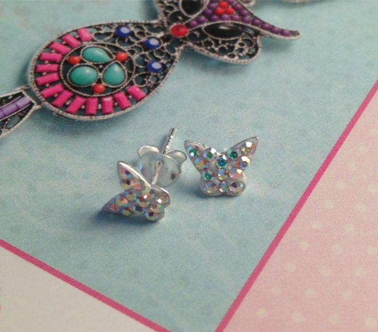 Butterfly Earrings, £7.99
