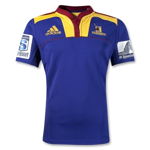 Highlanders 2012 Home Rugby Jersey