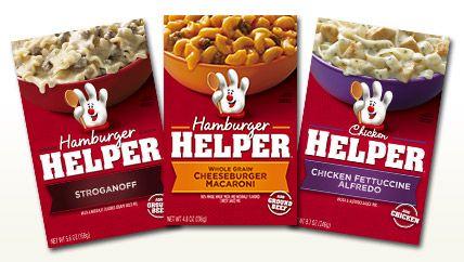 Products - Betty Crocker - Helper