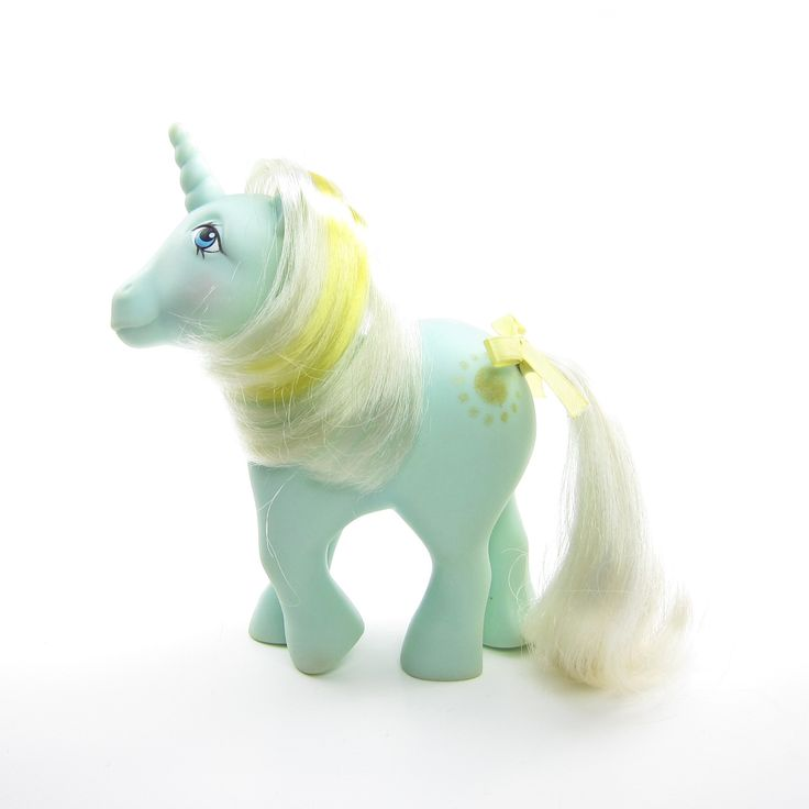 Sunbeam Unicorn My Little Pony Vintage G1