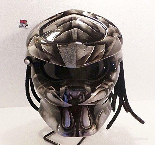 Predator Helmet, Motorcycle Helmet DOT Approved | adi075777 -  on ArtFire