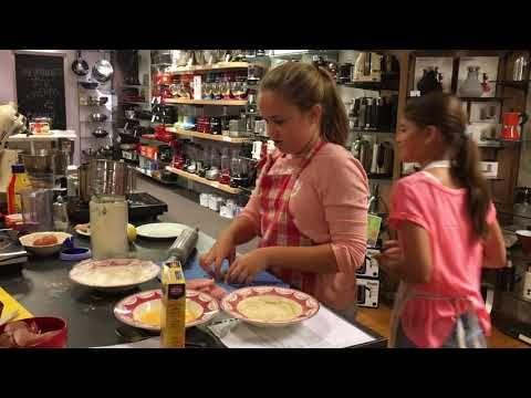 Kinderkookworkshop 17-10-2017 Mimi koken en tafelen schnitzels paneren