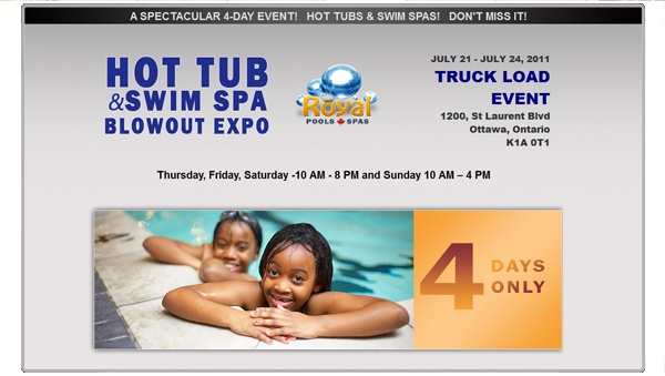 Royal Hot Tub Expo - Original Work