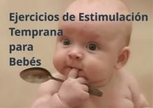 Ejercicios de estimulación temprana para bebés