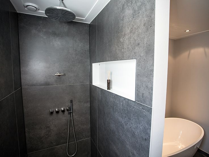 Luxe douche masterbadkamer