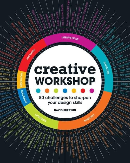 Creative Workshop: 80 Creative Exercises to Help Sharpen Your Mind | My Design Shop $16