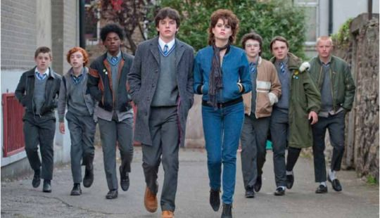 """SING STREET // movie review.DIRECTED BY: JOHN CARNEY STARRING: Ferdia Walsh-Peeno, Lucy Boynton, Jack Reynor, Mark McKenna RECOMMEND FOR FANS OF: Begin Again, Sunshine on Leith, History Boys """"Me and Mum watched this film the other day, you'd love..."""