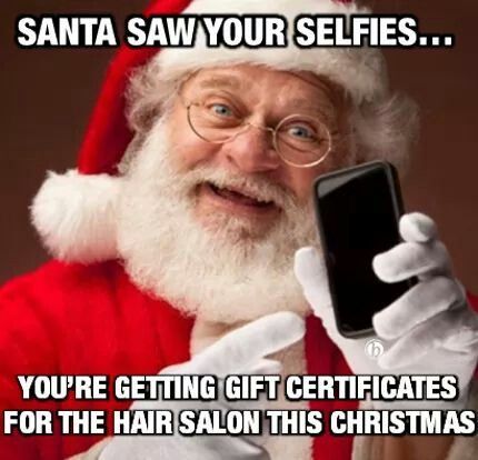 Santa Selfie | Christmas | Pinterest | Selfie