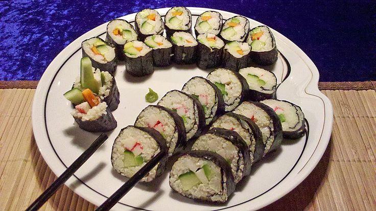 Low Carb Rezepte: Low Carb Sushi (unerwartet lecker)