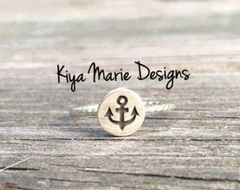 Mermaid Ring Sterling Silver Mermaid Ring by KiyaMarieDesigns