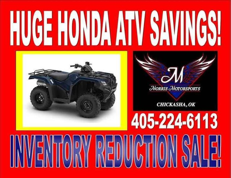 New 2016 Honda FourTrax Rancher 4X4 Automatic DCT Power ATVs For Sale in Oklahoma. 2016 Honda FourTrax Rancher 4X4 Automatic DCT Power Steering, 2016 Honda® FourTrax® Rancher® 4X4 Automatic DCT Power Steering Choose The Perfect ATV For The Job Or Trail. Every ATV starts with a dream. And where do you dream of riding? Maybe you ll use your ATV for hunting or fishing. Maybe it needs to work hard on the farm, ranch or jobsite. Maybe you want to get out and explore someplace where the…