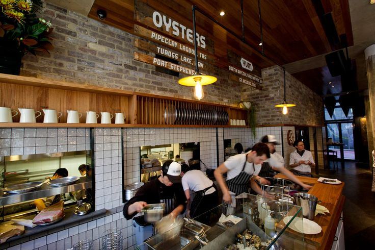 Oyster bar at the Morrison
