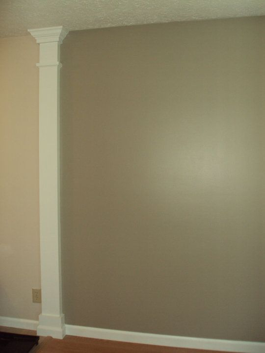 This Column Is To Divide The Wall And Allow You To Paint 2