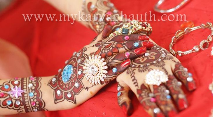 Attractive Ornamental Mehndi relies with Rich Design @ http://bit.ly/2cfQXZ8  #mehndi #designs #karva #chauth #galleries #pictures #Latest