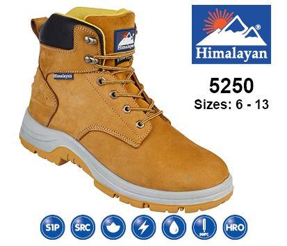 Honey Nubuck Safety Boot (5250)
