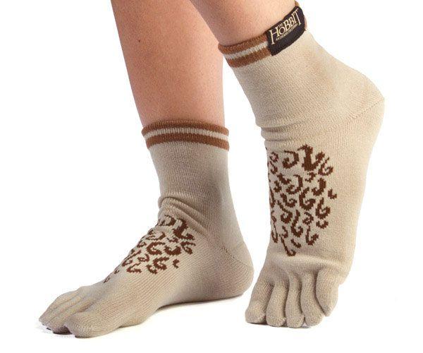 Want This New Innovation? Hobbit Feet Socks  ... see more at InventorSpot.com