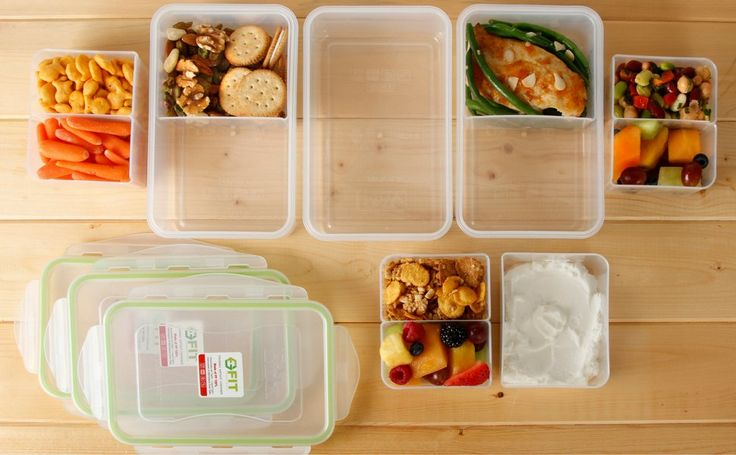 Amazon.com: Meal Prep Containers (38oz) by FIT, Strong & Healthy | Premium Leak Proof Bento Lunch Box for Portion Control | Configurable Removable Compartments | Reusable Food Storage Container | Healthy Eating: Kitchen & Dining