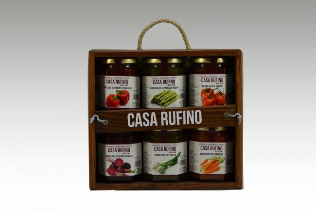 Pack 6 mermeladas Rufino