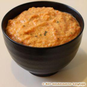 Nóri mindenmentes konyhája: Sült paprikás csicseriborsókrém (vegán)