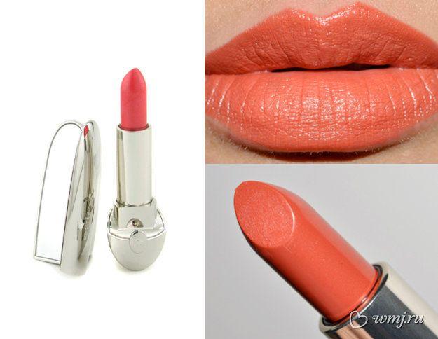 Оранжевая помада Guerlain Rouge G Lipstick (оттенок Orange Euphorique #45)