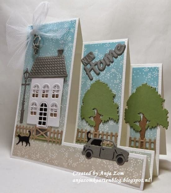 A new home card by DT member Anja made with the Collectables series COL1326 & COL1381