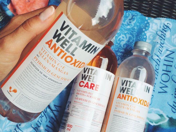 Pfirsich - ein heiteres Getränk | mytest.de Produkttests #mytest #vitaminwell #vitaminwelldeutschland