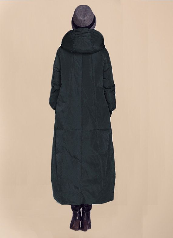 Hoodied Long Women Winter Down Coat Thick by ttlovewomenclothing