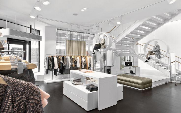 "MARC CAIN,Leipzig,Germany, ""Mono-Brand store of premium womenswear"", pinned by Ton van der Veer"