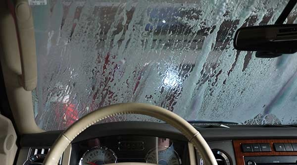 Sometimes I get board driving through the car wash so I took this picture!