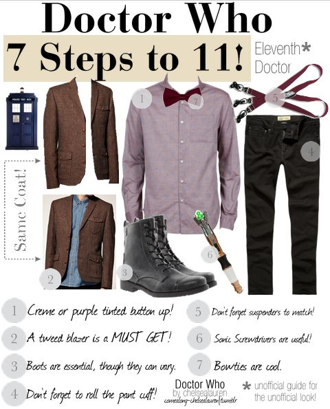 7 Steps To 11th Doctor