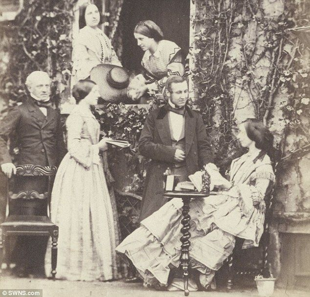 An early picture taken by Victorian amateur photographer Emma Johnston, showing a Mr Horn,...