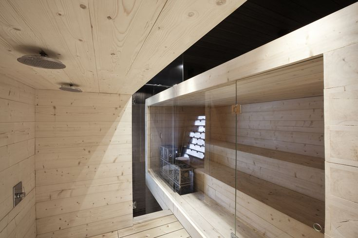 Expo Sauna Kyly - shower space