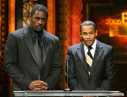 Idris Elba and Hill Harper