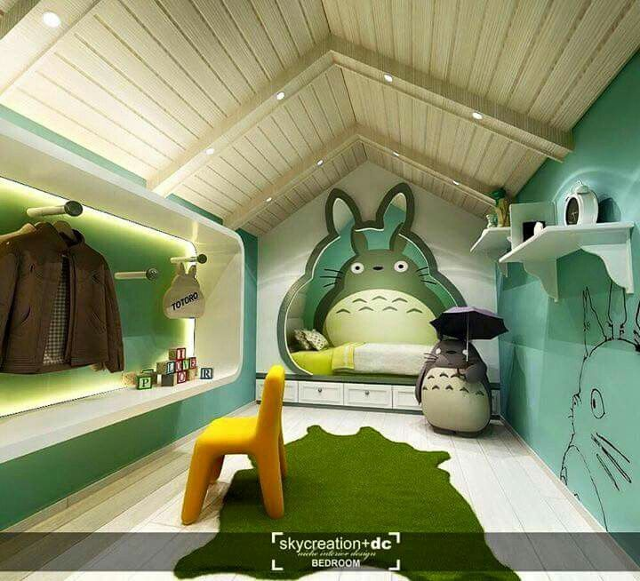 Cute and adorable bedroom design for kids