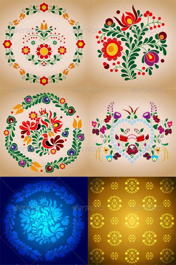 Hungarian Folkart Tattoo inspiration