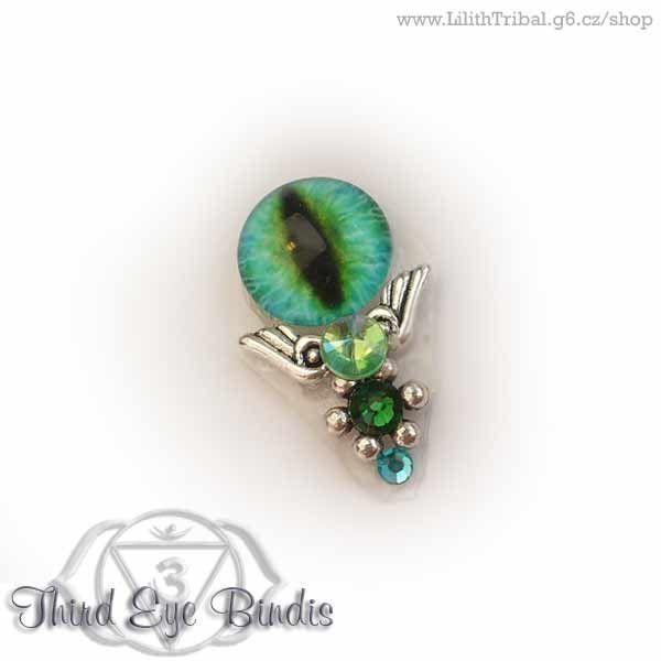 Sauron – tribal bindi (green)