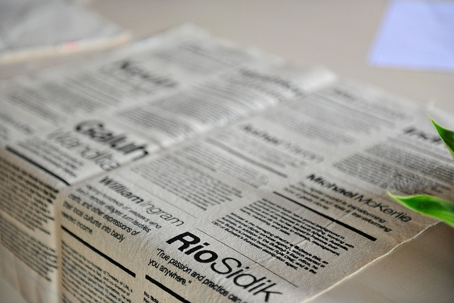 TEDxUbud 2012 Program on canvas, via Flickr. We were paper free!