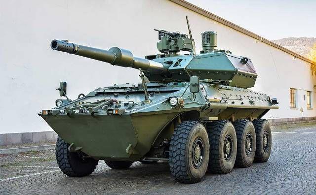 El Ejército italiano comprará 50 vehículos Centauro 2 y cuatro helicópteros A-129 Mangusta modernizados-noticia defensa.com