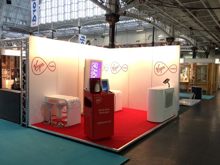 Exhibition Stand Hire Manchester : Virgin media our exhibition stands pinterest medium