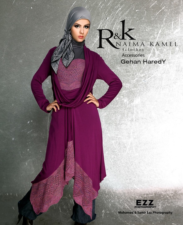 Modest clothing and hijab... Like this casual but polished look!