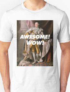Alexander Hamilton Awesome! Wow! T-Shirt