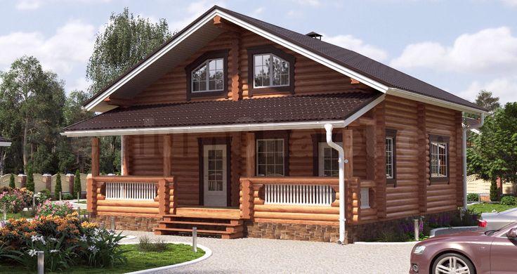 Проект деревянного дома — Кольчугино — КО-167