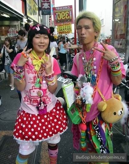 Японская уличная мода 2012