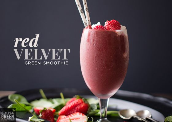 Red Velvet Green Smoothie