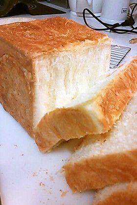 覚書 もっちりしっとり生クリーム角食パン by satominion [クックパッド] 簡単おいしいみんなのレシピが262万品