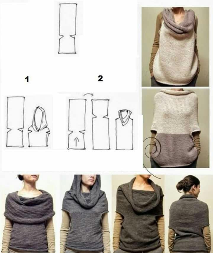 Blusa multifuncional