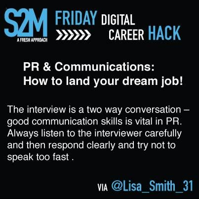 Career Hack #13 - The interview is a two way conversatoin