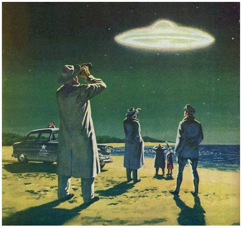 146 Best Images About Vintage Sci Fi Pictures On Pinterest: 833 Best Images About UFO On Pinterest