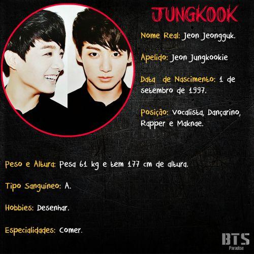 Biografia - Jungkook