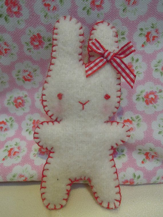 Vintage Blanket Bunny - so adorably simple and sweet